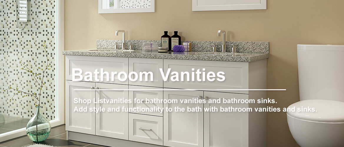 Captivating White Bathroom Vanities