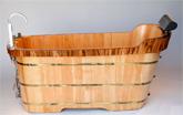 Wooden Bathtubs