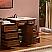 Silkroad 57 inch Single Bathroom Vanity Marble Top
