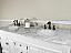 Bellaterra 205072-D-WH White Bathroom Vanity