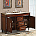 Silkroad 55 inch Double Sink Bathroom Vanity