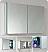 Fresca 40 inch Wide Bathroom Medicine Cabinet