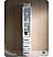 Torino White Tall Linen Side Cabinet