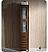 Torino Walnut Tall Bath Linen Side Cabinet