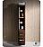Torino Walnut Bathroom Linen Side Cabinet