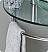 Attrazione 28 inch Modern Glass Bathroom Vanity Frosted