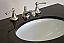 Adelina 60 inch Cottage White Double Sink