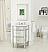 Adelina 24 inch Mirrored Bathroom Vanity