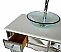Adelina 36 inch Mirrored Vessel Sink
