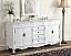 Adelina 72 inch White Antique Double Bathroom Vanity