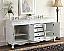Adelina 72 inch White Antique Double Bathroom Vanity Cabinet