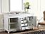 Adelina 63 inch White Antique Double Bathroom Vanity Cabinet