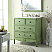 Adelina 36 inch Vintage Bathroom Vanity Mint Green Finish