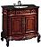 Adelina 43 inch Vintage Bathroom Vanity Antique Cherry Finish