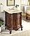 Adelina 27 inch Lush Wood Finish Vanity