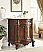 Adelina 27 inch Antique Bathroom Vanity Lush Wood Finish