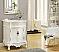 Adelina 27 inch Antique Vanity White Wood Finish