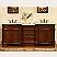 Silkroad HYP-0205-80 Double Bath Vanity