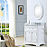 Derby 24 inch Traditional Bathroom Vanity Solid Wood White Finish