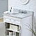 Derby 24 inch Traditional Bathroom Vanity White Finish