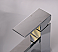 Chrome Polished Single Hole Square Faucet