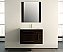 Sherry 32 inch Wall Mounted Bathroom Vanity Elmwood Finish
