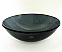 Legion Tempered Glass Vessel Sink ZA-27 Dark grey
