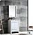 "Allier 24"" Modern Bathroom Vanity Glossy White Finish"