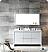 "Allier 60"" Modern Double Bathroom Vanity Glossy White Finish"