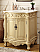 Adelina 27 inch Antique Bathroom Vanity Light Beige Finish