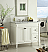 Adelina 36 inch White Finish Bathroom Vanity Marble Top