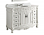 Adelina 48 inch Antique Bathroom Vanity White Marble Top