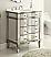 Adelina 30 inch Mirrored Bath Vanity & Mirror