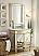 Adelina 32 inch Mirrored Gold Bathroom Vanity & Mirror