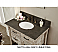 Rustic Bathroom Vanity White Top