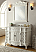 Adelina 48 inch Antique White Bathroom Vanity Fully Assembled