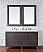 Abstron 60 inch Silver Oak Finish Double Sink Bathroom Vanity Optional Tops