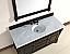 Abstron 60 inch Mahogany Finish Single Traditional  Vanity Optional Top