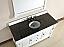 Abstron 60 inch White Finish Single Bathroom Vanity Optional Countertop