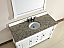 Abstron 60 inch White Finish Single Traditional Vanity Optional Countertop