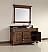Abstron 60 inch Oak Finish Single Traditional Bathroom Vanity Optional Countertop