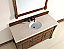 Abstron 60 inch Country Oak Finish Single Traditional Bathroom Vanity