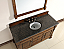 Abstron 60 inch Country Oak Finish Single Traditional Bathroom Vanity Countertop