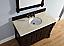 Abstron 48 inch Mahogany Single Traditional Bathroom Vanity Optional Countertop