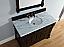Abstron 48 inch Mahogany Finish Traditional Bathroom Vanity Optional Countertop