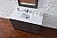 Abstron 48 inch Silver Oak Finish Single Modern Bathroom Vanity Countertop