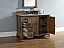 Abstron 48 inch Driftwood Transitional Bathroom Vanity Optional Countertop