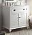 Adelina 34 inch Cottage Bathroom Vanity White Finish