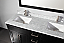 Adelina 60 inch Contemporary Espresso Finish Double Bathroom Vanity