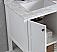 Adelina 30 inch Contemporary White Finish Bath Vanity Cabinet